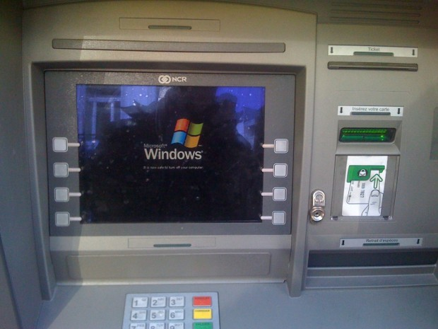 Please Restart the ATM